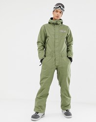 Analog Pony Keg One Piece Suit In Green