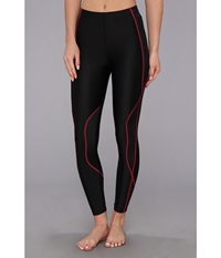 Cw X Traxter Recovery Tights Black Raspberry Women's Workout