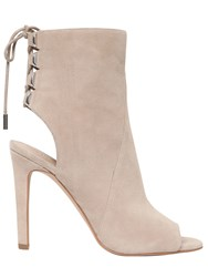 Kendall Kylie 100Mm Meadow Suede Open Toe Boots