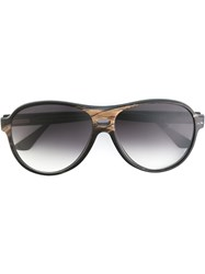 Ralph Vaessen 'Jurriaan' Sunglasses Brown