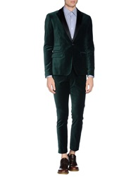 Paolo Pecora Suits Emerald Green