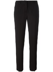 Ermanno Scervino Slim Fit Tailored Cropped Trousers Black