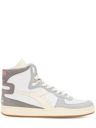 Diadora Lc23 Mi Basket Marte Hi Top Sneakers White