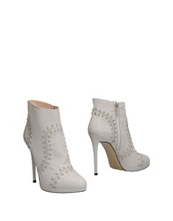 Pinko Ankle Boots Ivory