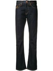 Vivienne Westwood Anglomania Straight Selvedge Jeans Blue