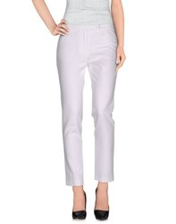 Odeeh Trousers Casual Trousers Women White