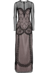 Alice By Temperley Luisa Embroidered Tulle Dress