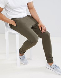 D Struct Pique Slim Fit Joggers Green