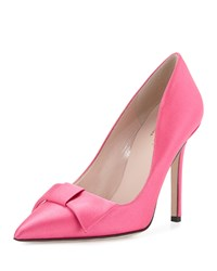 Layla Satin Bow Pump Pink Kate Spade New York