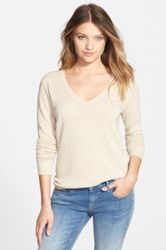 Bp V Neck Sweater Juniors Beige