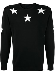 Guild Prime Star Embroidered Sweater Black