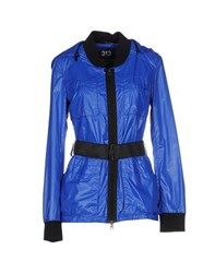 313 Tre Uno Tre Coats And Jackets Jackets Women Bright Blue