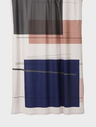 Ferm Living Color Block Shower Curtain Various