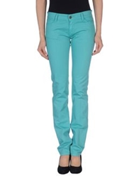 Lorna Bose' Casual Pants Turquoise