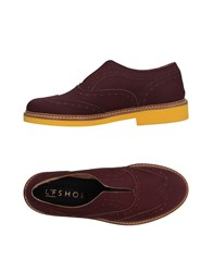 L'f Shoes Loafers Maroon