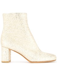 Maryam Nassir Zadeh Agnes Ankle Boots Metallic