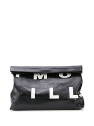 Simon Miller X Large Lunch Clutch Black