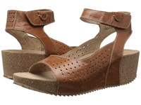 Josef Seibel Meike 01 Camel Women's Wedge Shoes Tan