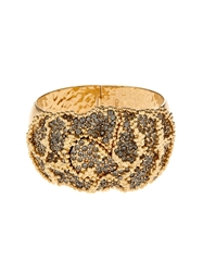 Chloe Crystal Embellished Flower Cuff
