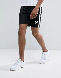 Good For Nothing Poly Shorts In Black Black