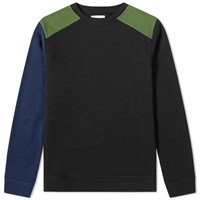 Oliver Spencer Robin Crew Sweat Black