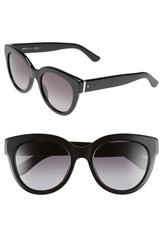 Women's Boss 52Mm Retro Sunglasses Black