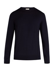 Connolly Merino Wool Sweater Navy