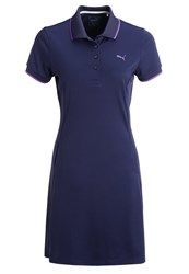 Puma Golf Sports Dress Peacoat Dark Blue