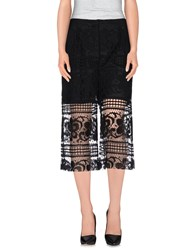 Jucca Trousers 3 4 Length Trousers Women Black