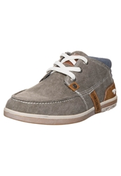 Tom Tailor Casual Laceups Mud Grey