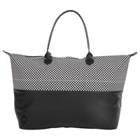 Mi Pac Microdot Weekender Bag Black White