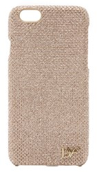 Diane Von Furstenberg Glitter Iphone 6 6S Case Light Gold