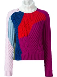 Iceberg Colour Block Sweater Multicolour