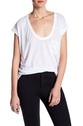 Zadig And Voltaire Tun Burnout Tee White