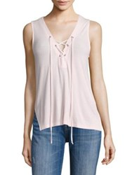 Feel The Piece Duffy Ribbed Tank Rose