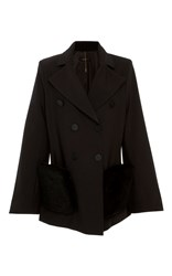 Ellery Avanti Double Breasted Blazer Black