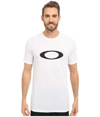 Oakley O One Icon Hydrolix Tee White Men's T Shirt