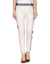 Vince. Casual Pants Ivory