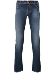 Jacob Cohen Light Wash Skinny Jeans Blue