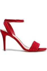 Sandro Woman Suede Sandals Red