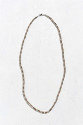 Urban Outfitters Antique Tri Tone Beaded Necklace Brown Multi