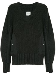 Wooyoungmi V Neck Sweater Grey