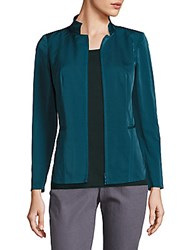 Lafayette 148 New York Adley Couture Cloth Jacket Crest