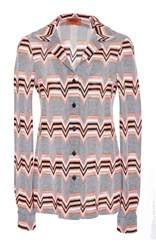 Missoni Long Sleeve Button Down Cardigan Multi