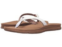 Freewaters Tall Girl White Brown Women's Shoes