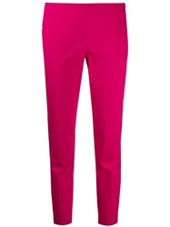 M Missoni Slim Fit Tailored Trousers Pink