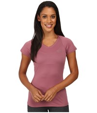 The North Face Better Than Naked Short Sleeve Top Nostalgia Rose Moonlight Ivory Women's Short Sleeve Pullover Pink