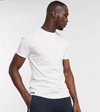 Threadbare Tall Basic T Shirt With Pocket In White