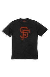 Red Jacket Men's 'San Francisco Giants' Vintage Screen T Shirt
