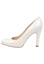 Unisa Pontic Bridal Shoes Bone Off White